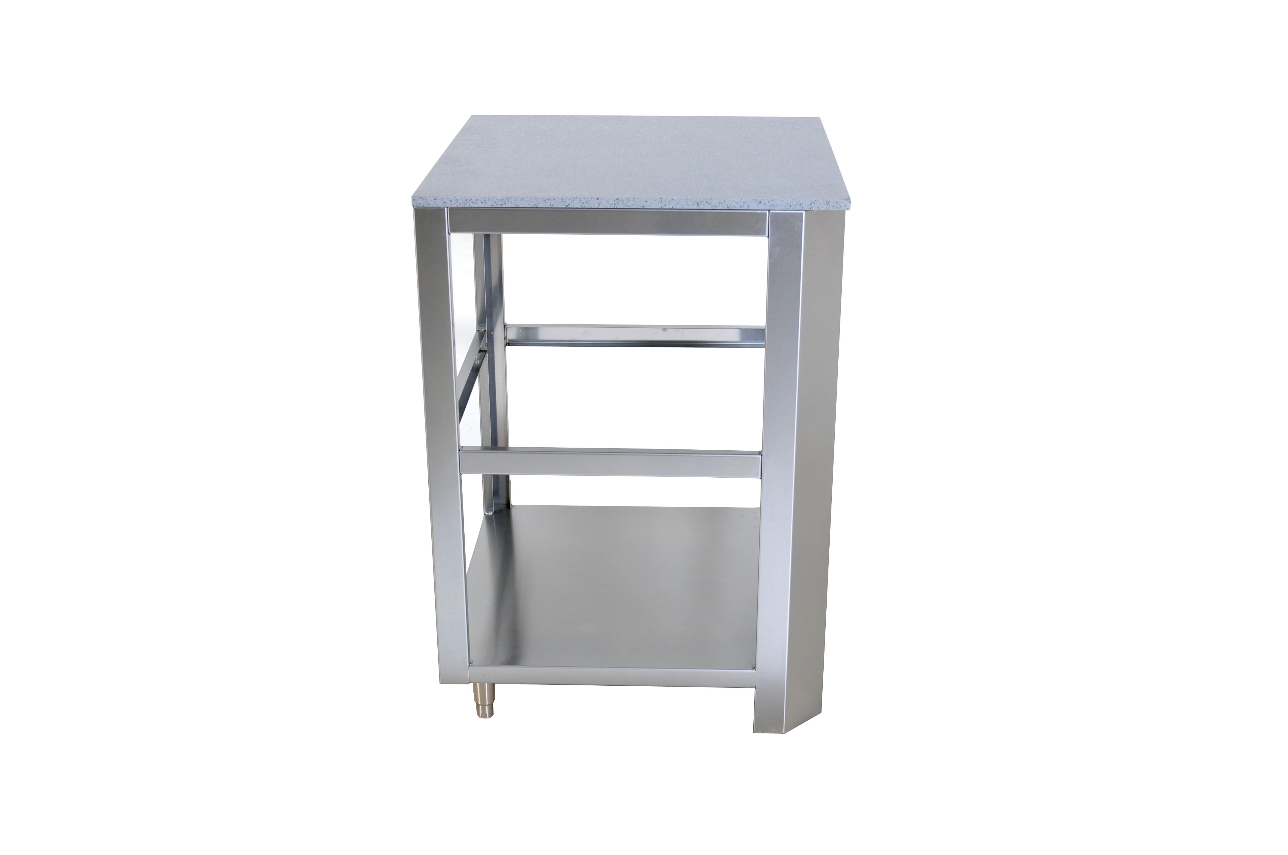 Outdoor kitchen module square corner unit grandfire bbq for Outdoor kuchen module